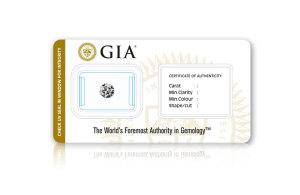 CertiCard® - GIA