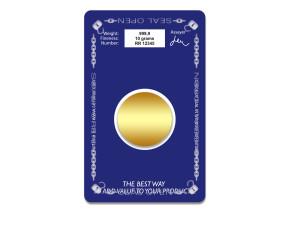 Back - CertiCard® OPENED