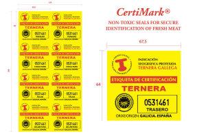 CertiMark® 67,5x64 mm