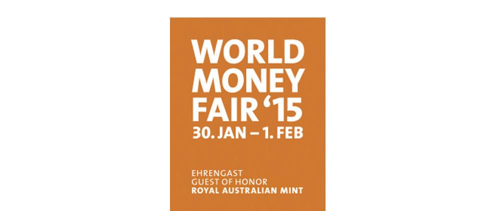 the World Money Fair 2015 in Berlin
