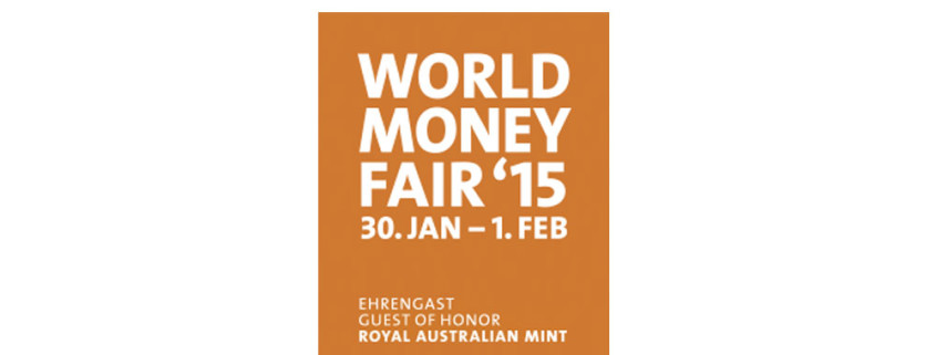 the World Money Fair 2015 in Berlin